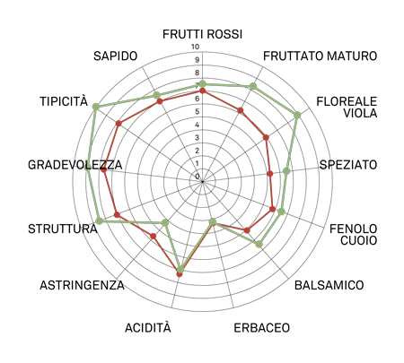 aromagramma aglianico taurasi vcr106