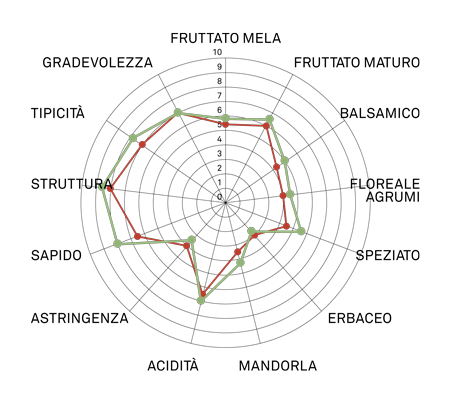 aromagramma greco di tufo vcr6