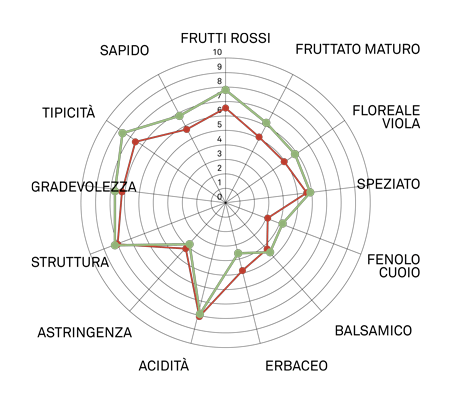 aromagramma raboso piave vcr19