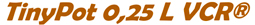 Prodotti VCR, barbatelle e portinnesti - TinyPot 0,25L VCR