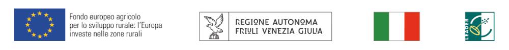 Progetto PSR VCR - Regione FVG - Unione Europea